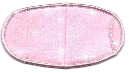 Pink Sparkles - Strap Children Eye Patch