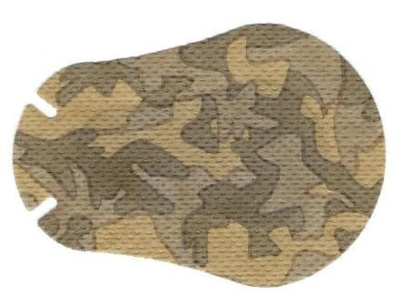Brown Camo Design Children Eye Patch