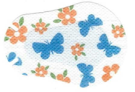 Butterflies Design Children Eye Patch
