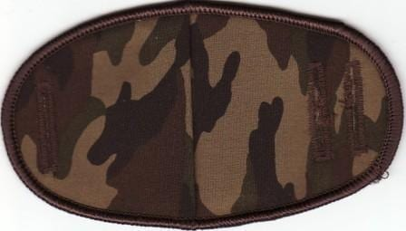 Camo - No Strap Children Eye Patch