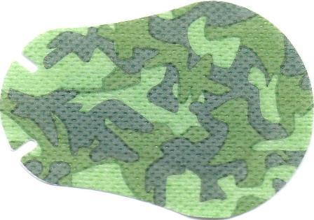 Green Camo design Children Eye Patch