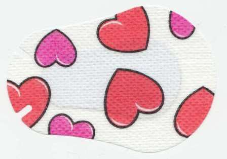 Hearts Children Eye Patch