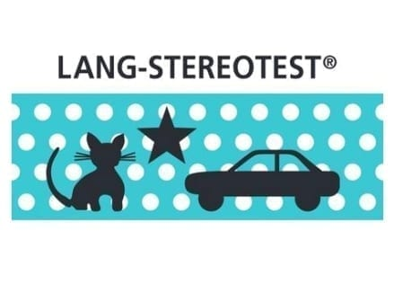 Lang Stereotest Cat, Star and Car