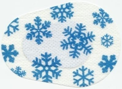 Frozen Snowflakes Children Eye Patch