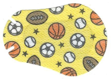 Sports Ball Design Children Eye Patch