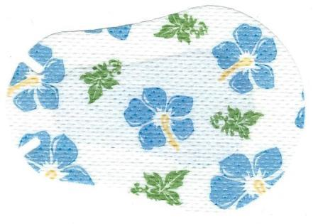 Tropical Flowers Children Eye Patch