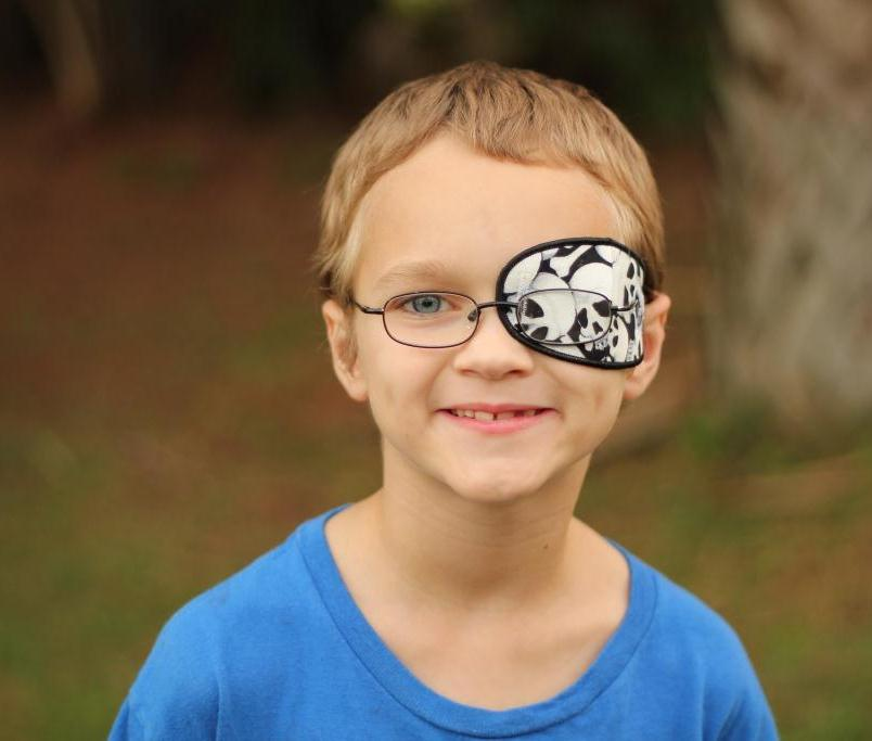 Skull design Children Eye Patch