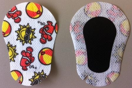 Front and Back Eye patch