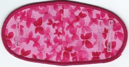Pink Red Butterflies - No Strap