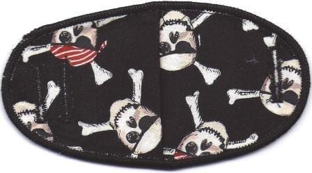 Pirate Skeletons - No Strap Children Eye Patch