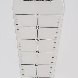 Translucent Bi-Nasal Wedge