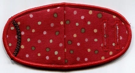 Muted Red w/dots - Strap
