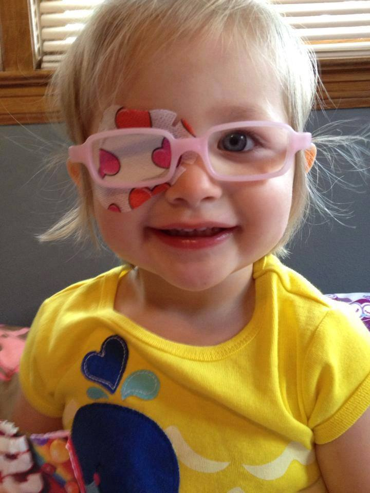Heart Design Kid's Eye Patch