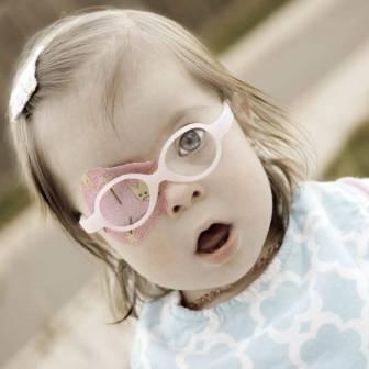littlest princess design eye patch