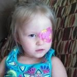 summer princess design eye patch