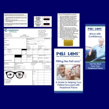 Peli lens Fitting Kit