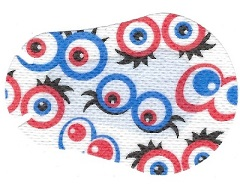 Eyes Eye Patch Design