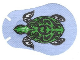 Turtle Design Eye Patch